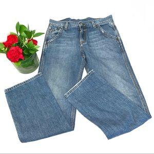 Lucky Brand 100% cotton Dungaree straight leg jean